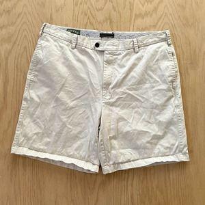 "Mens ORVIS Cotton Chino Casual Khaki Short 40 8.5"""